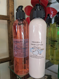 heavenly type hand soap and lotion