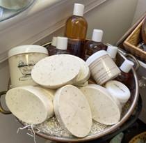 Cafe Latte Oval Soap