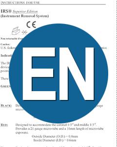 Download IFU IRS English Instructions (EN)