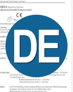 Download IFU IRS German Translation (DE)