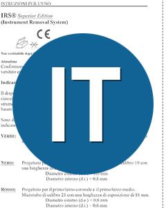 Download IFU IRS Italian Translation (IT)