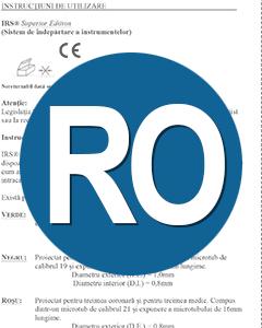 Download IFU IRS Romanian Translation (RO)