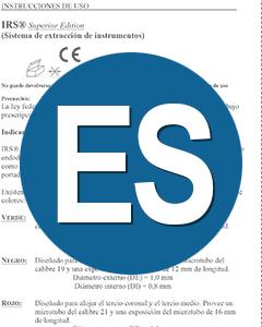 Download IFU IRS Spanish Translation (ES)