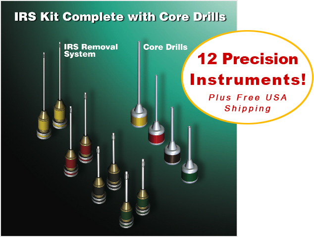 IRS® Dental Instrument Removal System