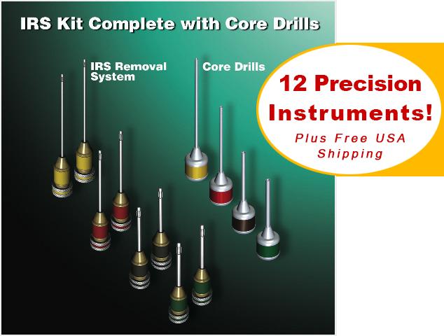IRS® Dental Instrument Removal System