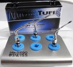 TUFI Tip Stand for any 6 Tips: Autoclavable