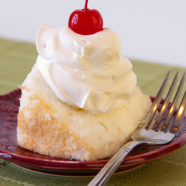Have your cake and eat it too! Fluffy, light and with less calories, our popular Angel Food Cakes will be hit at any party. Tip: top with one of our fruit pie fillings for a delectable treat! Baked and shipped from Ohio's Amish Country. Baked and shipped from Ohio's Amish Country.   Angel Food Cakes are 32 oz. and are unfrosted.  Available flavors– White Cherry Chocolate Chip Mint Chocolate Chip Maple Nut Peach Strawberry Lemon Raspberry