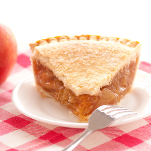 Apple pie may be all-American, but among the Amish and Pennsylvania Dutch, it's a specialty. Liberally blended with cinnamon, sweet apples are cooked into a simple but delicious filling then baked in our homemade pie crusts. No artificial flavorings and colorings are used. Our double-crusted fruit pies are lightly brushed with butter and sprinkled with sugar to brown the crust. Pies will arrive pre-baked and frozen in an insulated shipping cooler. Simply thaw in the oven and your home will be filled with the sweet scent of our Amish bakery. Baked and shipped from Ohio's Amish Country.  Instructions are included. 9 inch pie. We do not use high-fructose corn syrup to make our fruit pie fillings.
