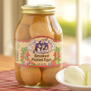 Amish Wedding Smoked Pickled Eggs