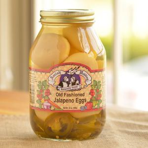 Amish Wedding Foods Old Fashioned Jalapeno Eggs
