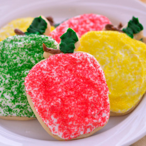 Our Der Dutchman cut-out cookies are soft, sweet and made from scratch. Our cut out sugar cookies are decorated with colorful sugar sprinkles topping a delicious cream cheese icing. Baked and shipped the same day, these buttery cookies will make you the most popular person in your house or office. Order plenty to share -  they disappear quickly!
