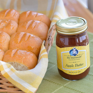 A great gift idea, our freshly-baked Dinner Rolls are paired with old-