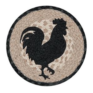Rooster Silhouette Trivet