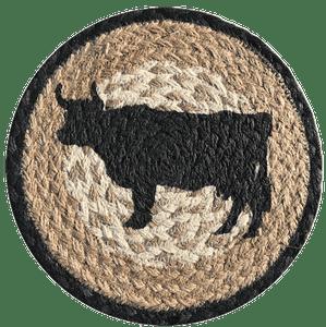 Cow Silhouette Trivet