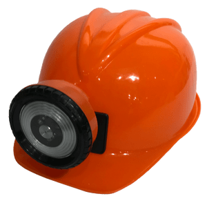 Kid's Miner Helmet, Orange