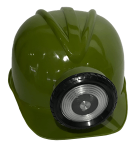 Kid's Miner Helmet, Green