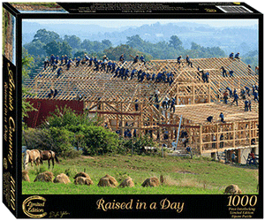 Raised In A Day Jigsaw Puzzle