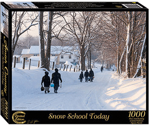 Snow School Today Jigsaw Puzzle