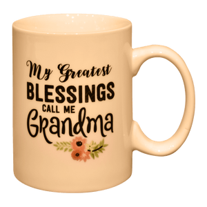 Greatest Blessings Grandma Mug