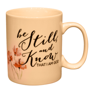 'Be Still And Know' Mug