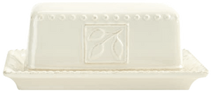 Ivory Butter Dish