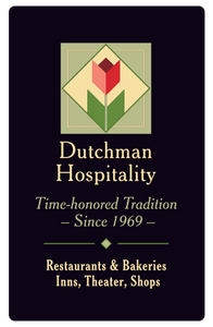 Dutchman Hospitality Group Gift Card