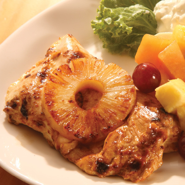 One of the most popular items on our restaurant menus in our marinated skinless boneless Gerbers Amish Farm chicken. Now you can prepare the exact same chicken at home.  Chickens from Gerber's Poultry in Kidron, Ohio, are fed a vegetarian diet with no hormones, antibiotics, saltwater, gluten, arsenic or by-products. And, it's a high quality, consistent product.