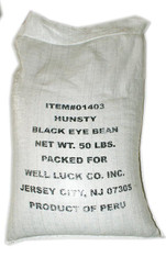 01403	BLACK EYE BEAN	50 LB