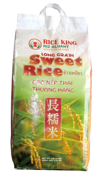 02002 LONG GRAIN SWEET RICE THAI RICE KING 20 LB - Well ...
