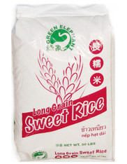 02004	LONG GRAIN SWEET RICE	GREEN ELEPHANT 50 LBS