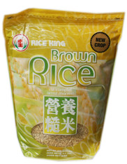 02349	CALIFORNIA BROWN RICE	RICE KING 8/4.4 LBS