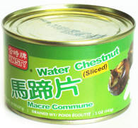11421	WATERCHESTNUT SLICED	HUNSTY 24/8 OZ