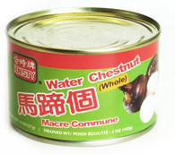 11501	WATERCHESTNUT WHOLE	HUNSTY 24/8 OZ
