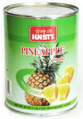 12365	PINEAPPLE CHUNKS H/S	HUNSTY 24/20 OZ