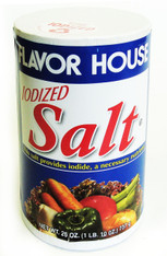 21905	IODIZED TABLE SALT	FLAVOR HOUSE24/26 OZ