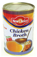 21934	CHICKEN BROTH NO MSG	NEW CHOICE 12/46 OZ