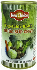 21963	VEGETABLE BROTH	NEW CHOICE 12/46 OZ