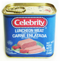 31377LUNCHEON MEATCELEBRITY 12/12 OZ