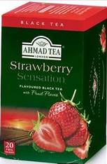33238	AHMAD TEA STRAWBERRY	AHMAD #700 6/20 CT FOIL BAGS