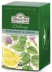 33241AHMAD TEA PEPPERMINT & LEMONAHMAD #002 6/20 CT FOIL