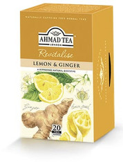 33255	AHMAD TEA LEMON & GINGER	AHMAD #020 6/20 CT FOIL BAGS