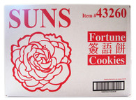 43260	FORTUNE COOKIES SNGL WRAP	SUNS 300 PCS