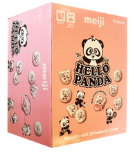 43825	HELLO PANDA STRAWBERRY	MEIJI 8/10/2 OZ