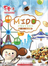 45482	MIDO MIXED NUTS & RICE CRACKER	TRYGOODZ 12/180 G