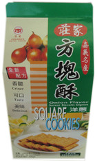 45958	SCALLION COOKIES	CHUANG JIA 12/430 GM