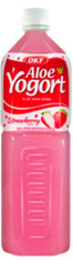 46242	ALOE YOGORT STRAWBERRY	OKF 12/1.5 L