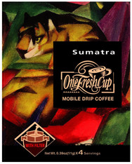 46711	COFFEE DRIP SUMATRA	ONE FRESH CUP 12/4/11G