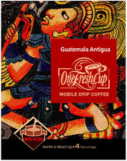 46716	COFFEE DRIP GUATEMALA	ONE FRESH CUP 12/4/11G
