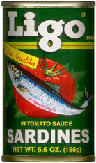 51087	SARDINE REGULAR -PHLI	LIGO 100/5.5 OZ