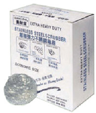 62220STAINLESS STEEL SCRUBBER PADDURACLEAN 10/10 PCS